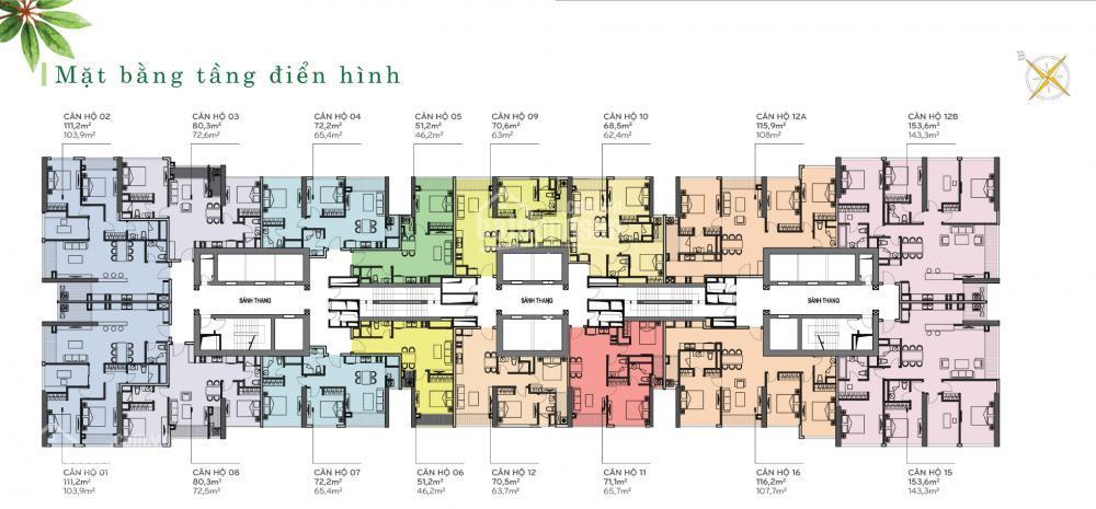 Cần cho thuê gấp căn 2PN/2WC, giá rẻ 15.77 triệu/tháng – Vinhomes Central Park, Park 1