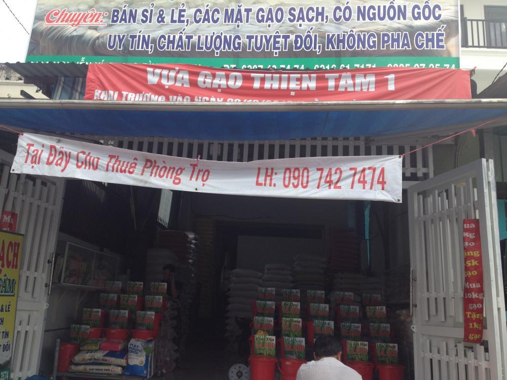 Cho thuê nhà nguyên căn mặt tiền gần chợ