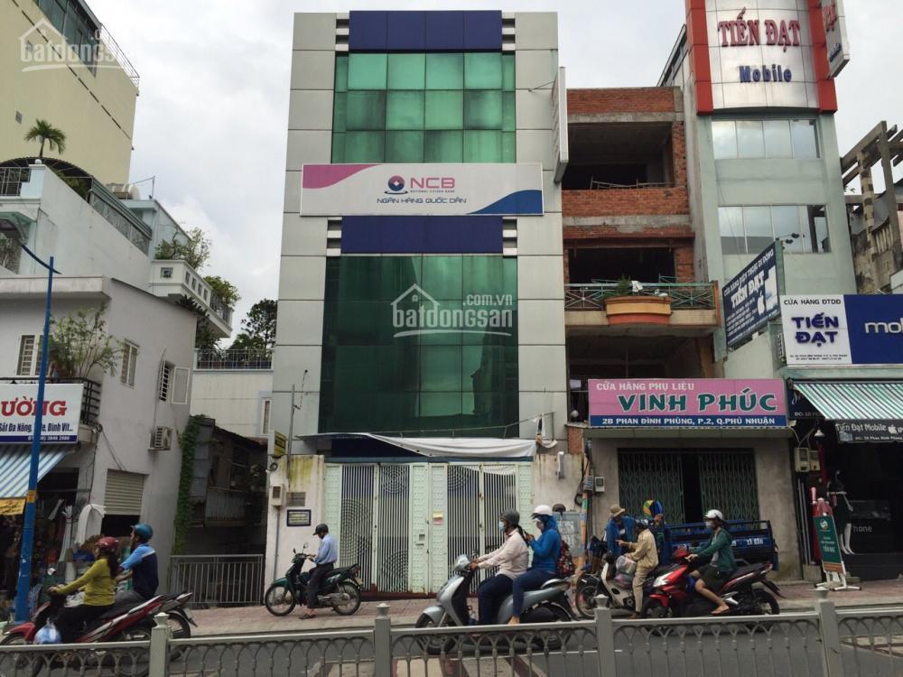 Cho thuê nhà 2MT đường Nguyễn Thái Sơn, DT: 500m, 4L, Giá: 65 Triệu