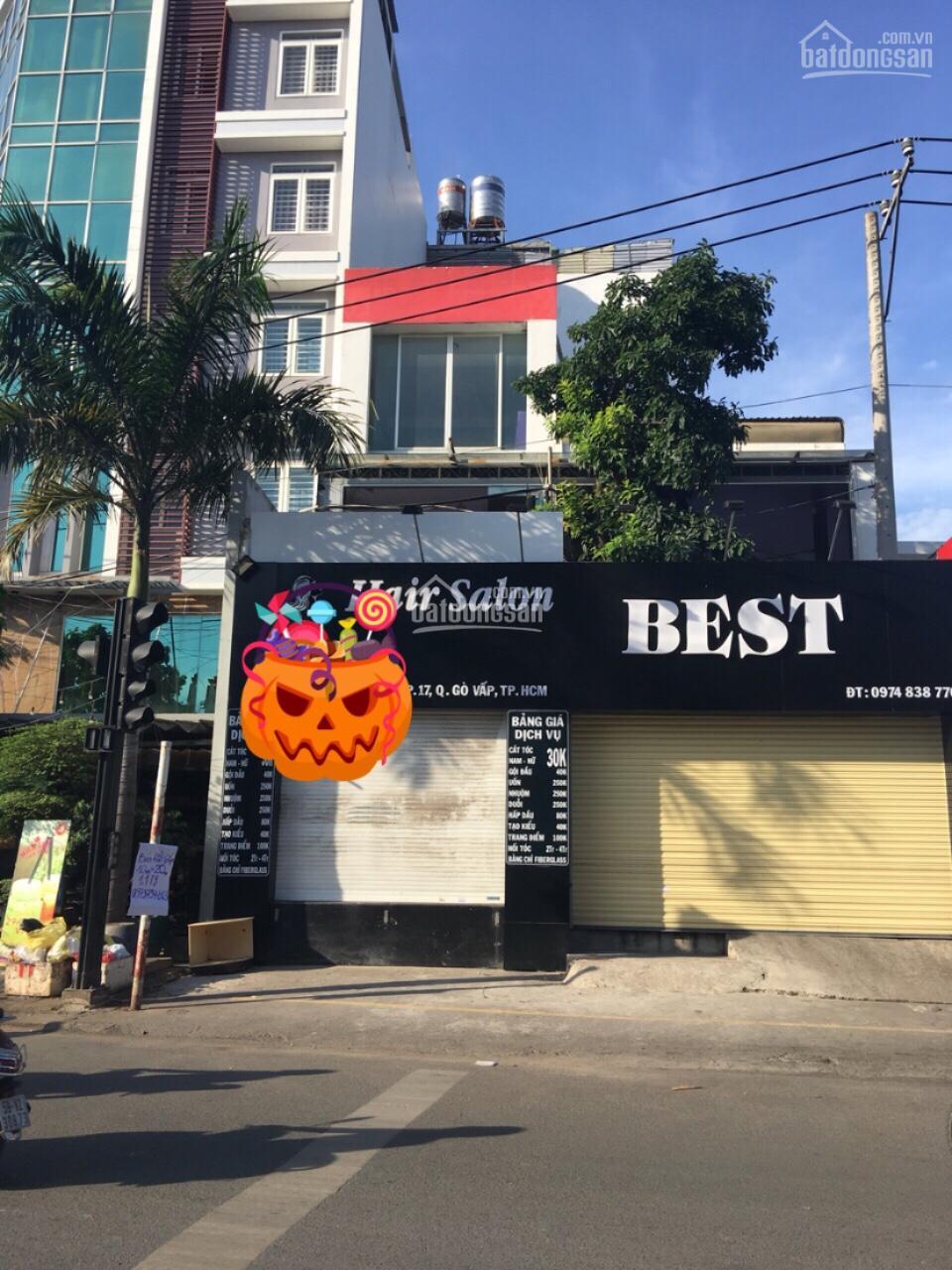 Nhà Mặt Tiền Gần Coopmart Phan Văn Trị 4*20m 2 lầu 1 sân thượng