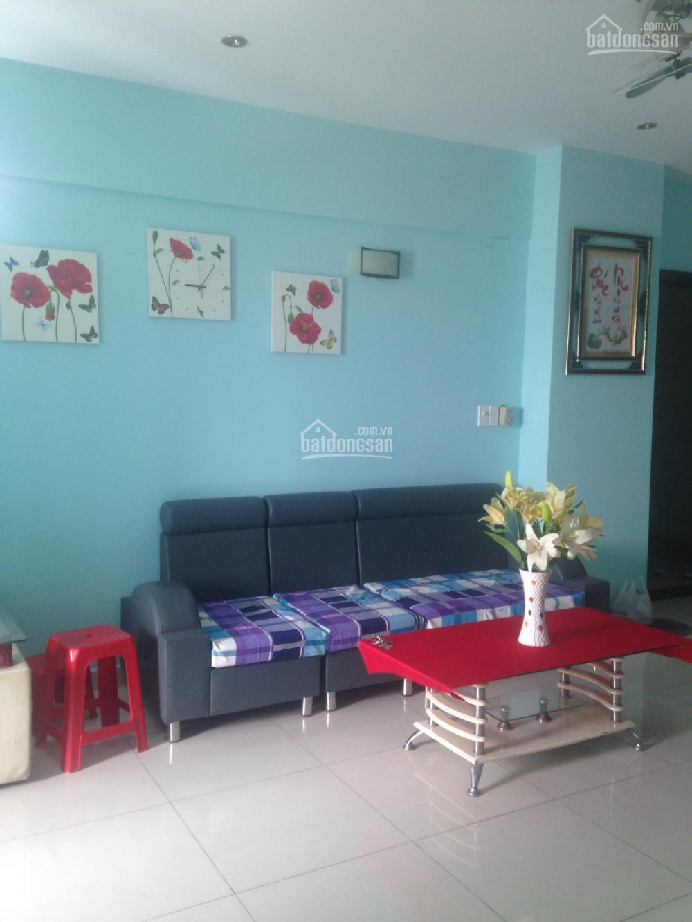 Cho thuê căn hộ Phú Thạnh, Q. Tân Phú, 82m2, 2PN, đầy đủ nội thất, giá 8tr/th, nhà thoáng mát