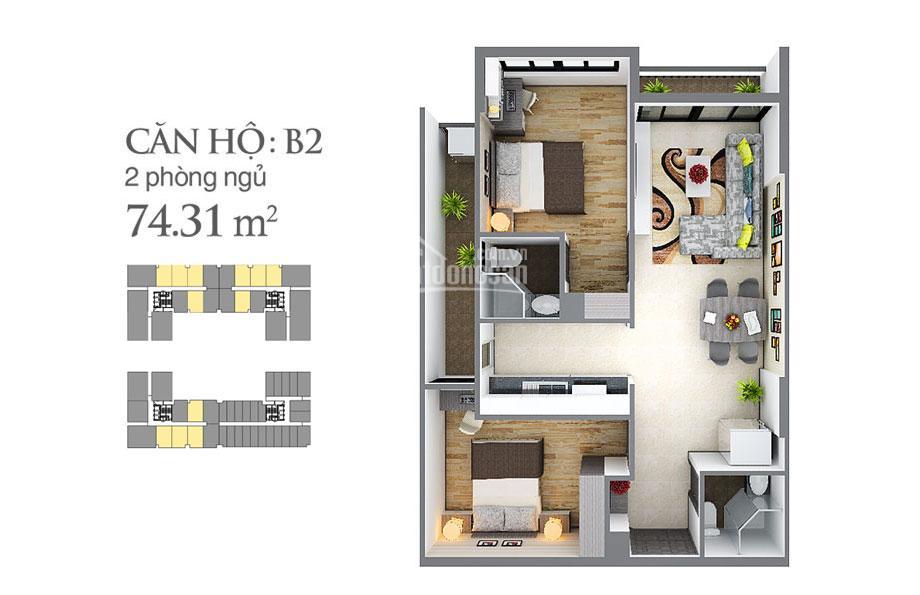 Cho thuê căn hộ Sky Center 2PN 2WC, view đẹp giá tốt 11 triệu/tháng 0909462289