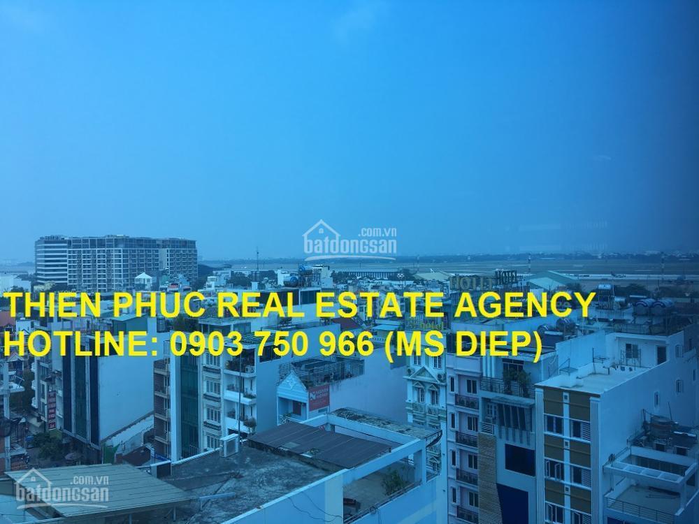 Cho thuê văn phòng đẹp tòa nhà MT Bạch Đằng, Tân Bình, 193m2, 63 triệu/tháng bao thuê phí