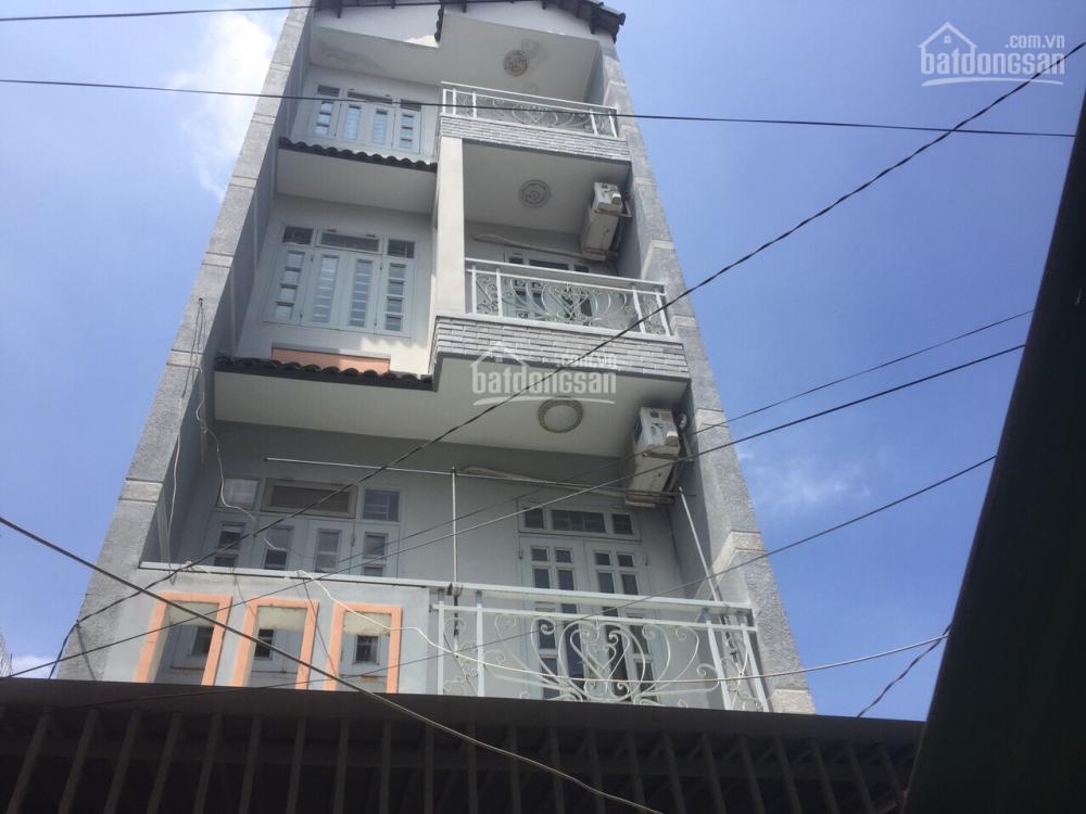 Nhà nguyên căn 4x16m trệt 3 lầu 4 phòng ngủ gần chùa nghệ sỹ p11, Gò Vấp